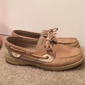 $13 sperry leather boat shoes